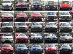 Alfa Romeo Grilles