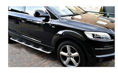 AUDI Q7 SIDE STEPS C2 SIDE BARS RUNNING BOARDS OEM 4X4 ACCESSORIES STYLING
