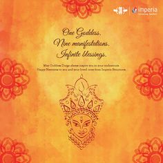 May Goddess Durga always inspire you in your endeavours. Happy Navratras to you and your loved ones from #ImperiaStructures  #HappyNavratri