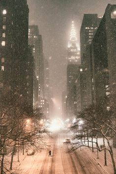 New York City - Snow - Janus - Chrysler Building - View from Tudor City Place   Flickr - Photo Sharing!