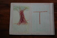 Ancient Hearth: First Grade: Language Arts Block letter T