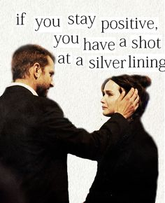 Silver linings #Saw this movie and LOVED it! Exceptional actors and a very good well written script that opens up our eyes to mental illness and how an individual may struggle with it, but can still find their strength, love & acceptance from others. Yes, true love conquers... <3