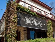 Moonshine: Austin, TX. We ate here not too long ago. Took the train downtown. Wonderful date night.