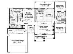 ePlans Craftsman House Plan – Comfortably Craftsman – 2001 Square Feet and 3 Bedrooms from ePlans – House Plan Code HWEPL76714
