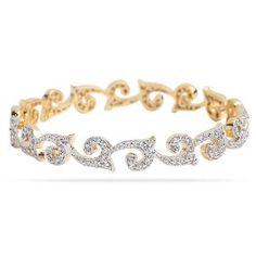 stylish design diamond bracelet