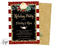 Holiday Party Invita