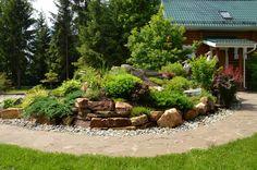 Front yard rock garden ideas - My Gardening Space