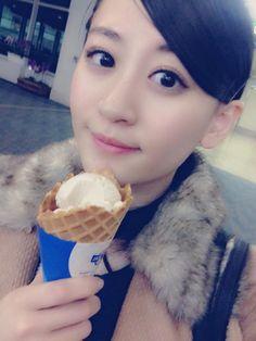 """Kei Jonishi """"東京ついたでっ。 沖縄一瞬やけど楽しかったでっ。  空港で沖縄気分味わえたでっ。"""""""