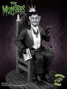 Tweeterhead Grandpa Munster Deluxe Black and White Maquette IN STOCK | eBay