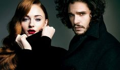 Absolute Lunatic | The Queen and King of the North. So pretty.