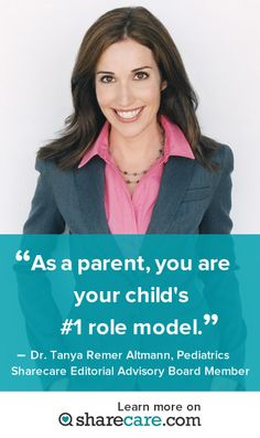 See what this parenting expert is talking about on Sharecare! http://www.sharecare.com/user/dr-tanya-altmann#cmpid=pt00001