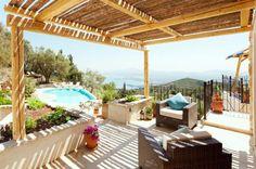 Villa rental in Spartilas, Corfu, Ionian Islands, Greece. 4 bedrooms (sleeps 9)