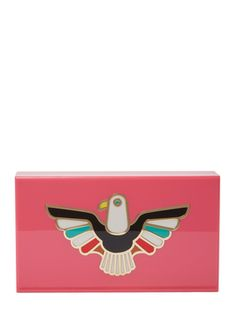 Spirit Eagle Box Clutch from The It Brits: Charlotte Olympia on Gilt