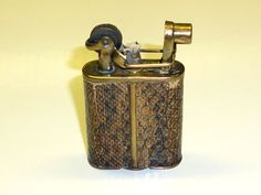 IMCO  SUPER  LIGHTER WITH LIZARD SKIN -  JULIUS FRANZ MEISTER  - 1928 - AUSTRIA
