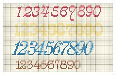 Cross Stitch Baby, Cross Stitch Alphabet, Christmas Cross, Le Point, Letters And Numbers, Charts, Design, Cross Stitch Embroidery, Activities