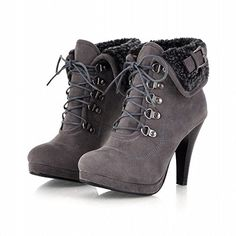 Carol Shoes Fashion Women's Buckle Lace-up Chic Platform High Heel Ankle Boots (9.5, Grey) Carol Shoes http://www.amazon.com/dp/B00NV0VPWI/ref=cm_sw_r_pi_dp_q9RYvb0G9EWF1