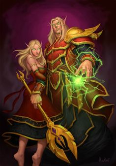 Darkstryker and Darcyn, the soon to be best husband wife team on Spirestone......lol or we would like to hope anyway :P