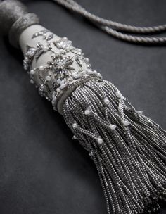 Ariel key tassel - product gallery image