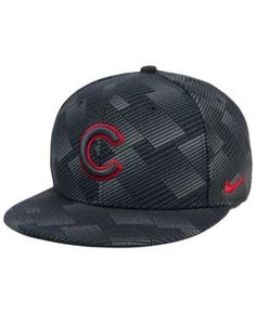 5581fcdf253 Nike Chicago Cubs Anthracite Snapback Cap   Reviews - Sports Fan Shop By  Lids - Men - Macy s