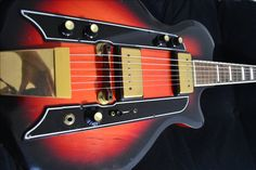 Airline Town and Country 1960 Electric Guitar - Valco, Supro, Kay