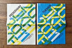 Stretching the book and make the front and back cover together, the book covers together looks like a poster. The words displayed used the tool of transparency to lay words onto each other.
