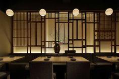 t_2 Japanese Style House, Japanese Shop, Japanese Modern, Japanese Design, Restaurant Bathroom, Deco Restaurant, Restaurant Design, Chinese Restaurant, Chinese Interior