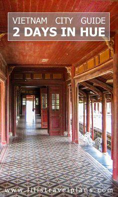 How to: 2 days in Hue, Vietnam - Imperial City & Perfume River Laos, Vietnam Travel Guide, Asia Travel, Travel Tips, Travel Guides, Travel Plan, Catamaran, Hue Vietnam, North Vietnam