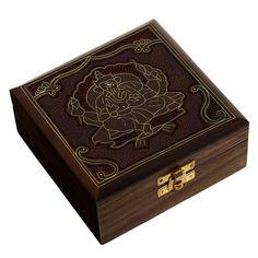 Handmade Indian Wood Jewelry Box - Jewelry Box For Girls And Ladies - ShalinIndia Best Gifts For Women