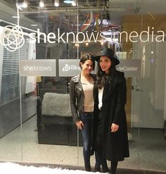 We are so excited to start collaborating with the @sheknows team! #nyc #fashionstartup #entrepreneurs #sheknows