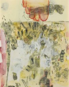 Robert Rauschenberg - Canto XIV - From XXIV Drawings from Dante's Inferno (1959)