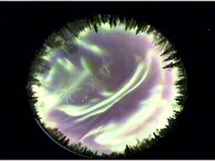 Overnight auroras in North Pole, Alaska Nov 2/3, 2015