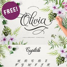 Hey my friends! Guess what?! One of my favorite fonts is now available for FREE!! It's the gorgeous Olivia Script Font and I am not sure for how long it's going to be available for free download, so I wouldn'thesitate to download it ASAP! Be Sure To Subscribe To ReceiveExclusive Freebies and Post! :) Enjoy!...Read More »