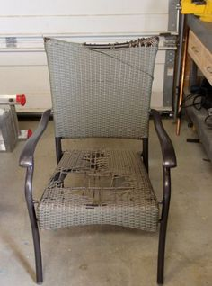Patio Chair Redo   Just In Time! I Have 2 Needing A Redo. :