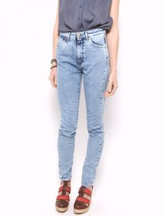 I think my mom had these jeans in the early '90s.