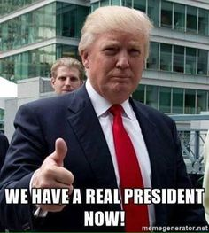 Finally, after 8 years, a President who loves America!
