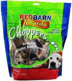 Redbarn Choppers Dog Treats, 9-oz bag