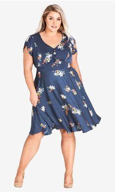 d36a031d237 Shop Women's Plus Size Sweet Spot Floral dress - Dresses   City Chic USA  Curvy Women