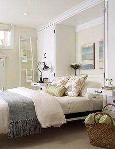 Mädchenhaften Pastell Keller Schlafzimmer