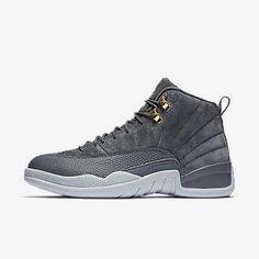 Air Jordan 12 Retro Men's Shoe, by Nike Size (Grey)