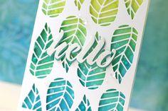Altenew-Striped Leaf Cover Die