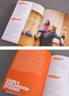 Face Education Marketing has created a funky new prospectus for Lakes College, featuring new commissioned photography and great print features. Page Design, Layout Design, Print Design, Brochure Layout, Brochure Design, Editorial Layout, Editorial Design, School Prospectus, Booklet Design