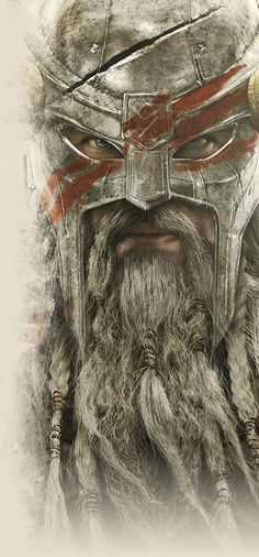 Skyrim Concept art, but One day I would love to have a beard as glorious as…