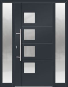 Modern, Contemporary, Traditional Entry Doors, made of Fiberglass, Steel, Vinyl, Aluminum for residential home in Toronto, GTA, Ontario, Canada.