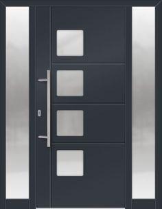 Modern Fiberglass Entry Doors front entry door-modern door-modern fiberglass door with 4 door