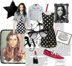 """""""Kristen Stewart Style"""" by fyox ❤ liked on Polyvore"""