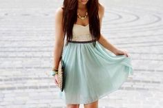 Cute dress, something I could wear for spring