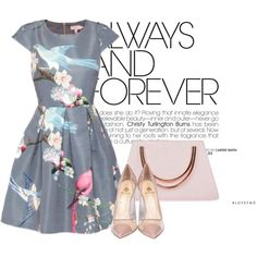 TheBirdsBaker by magsterific on Polyvore featuring Ted Baker and Semilla