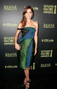 @roressclothes closet ideas #women fashion outfit #clothing style apparel off shoulder dress Kate Walsh