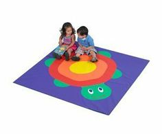 Children s Factory CF362-001 4 in. x 5 in. Turtle Hatchling Mat by Children's Factory. $147.79. The Turtle Hatchling Activity Mat from Children's Factory is a brightly colored mat that offers a soft and safe surface for a child to play upon. Its strong vinyl surface is highly resistant to tearing and can be easily cleaned with a solution of bleach
