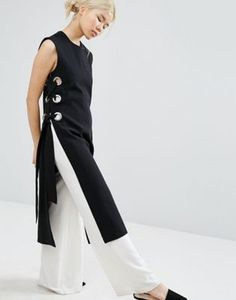 Buy Style Mafia Kaja Tunic Top at ASOS. With free delivery and return options (Ts&Cs apply), online shopping has never been so easy. Get the latest trends with ASOS now. Look Fashion, Hijab Fashion, Diy Fashion, Fashion Dresses, Womens Fashion, Fashion Design, Fashion Trends, Fashion Online, Latest Fashion
